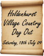 Holdenhurst Village Country Day Out 2009 Logo Small