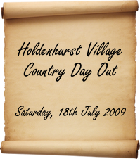 Holdenhurst Village Country Day Out 2009 Logo
