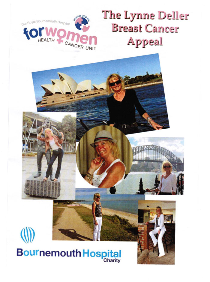 The Lynne Deller Breast Cancer Appeal Page 1