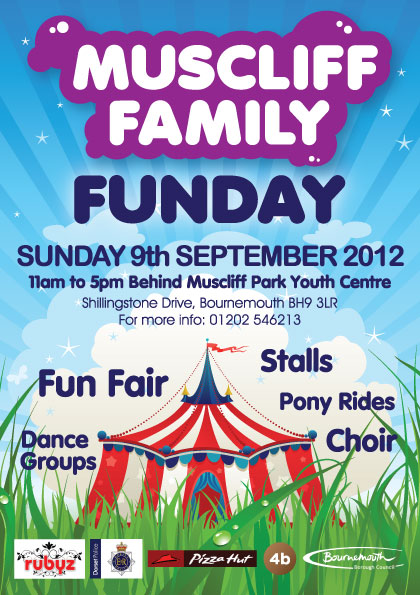Muscliff Family Funday September 2012 Leaflet - Bournemouth
