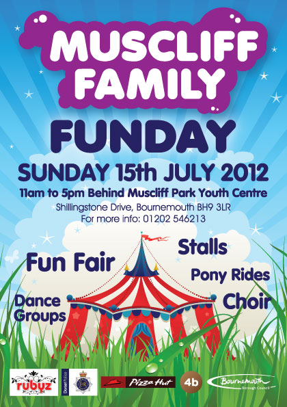 Muscliff Family Funday July 2012 Leaflet - Bournemouth