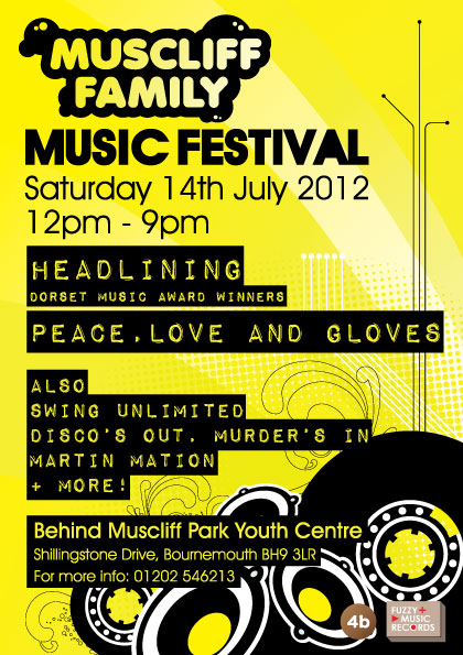 Muscliff Music Festival July 2012 Leaflet - Bournemouth