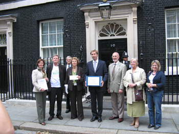 Tobias Ellwood MP and Annette Brook MP with Consortium Members